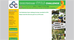 Preview of cheltenhamcyclechallenge.co.uk